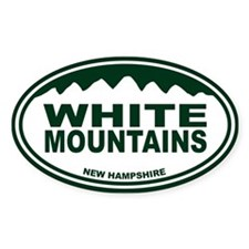 White Mountains Decal
