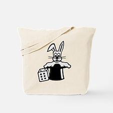 Rabbit magician Tote Bag