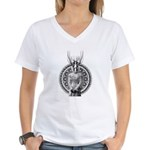 Cephalopod Bride Women's V-Neck T-Shirt