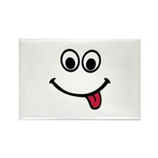Smiley Rectangle Magnet
