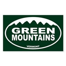Green Mountains Decal