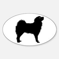 Tibetan Mastiff Oval Decal
