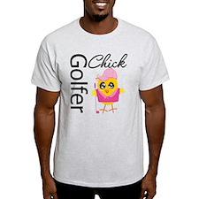 Golfer Chick T-Shirt