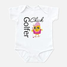 Golfer Chick Infant Bodysuit