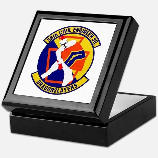 56th Civil Engineer Keepsake Box