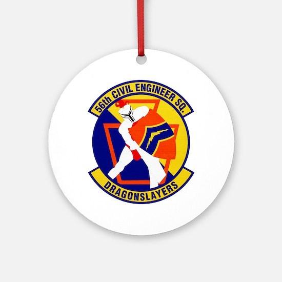 56th Civil Engineer Ornament (Round)
