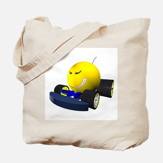 Race Face Tote Bag