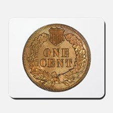 Indian Head Penny Reverse Mousepad