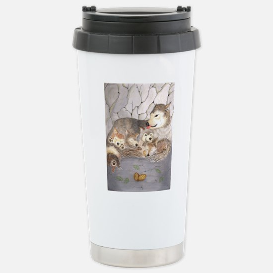 wolf cubs Stainless Steel Travel Mug