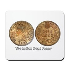 Indian Head Penny Double-Sided Mousepad
