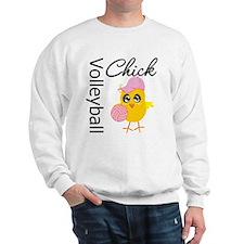 Volleyball Chick Sweatshirt