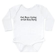 Favorite Shawshank Quote Long Sleeve Infant Bodysu