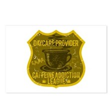 Daycare Caffeine Addiction Postcards (Package of 8
