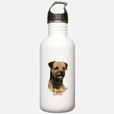 Border Terrier 9Y325D-046 Sports Water Bottle