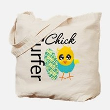 Surfer Chick Tote Bag