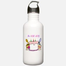 The Cake lady Water Bottle