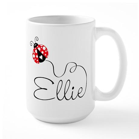 Ladybug Ellie Large Mug