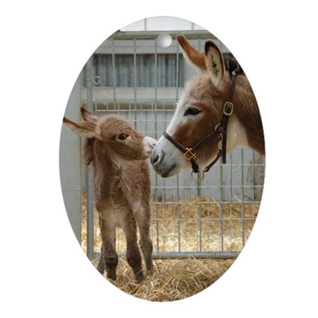 Donkey & Foal Ornament