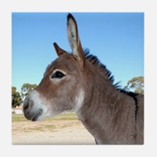 Miniature Donkey Tile Coaster