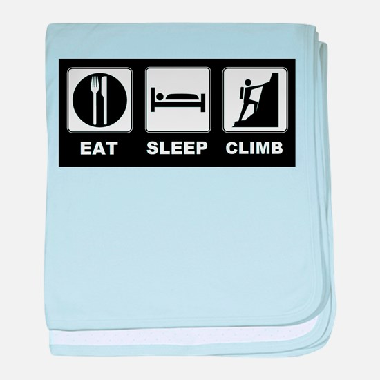 eat seep climb baby blanket