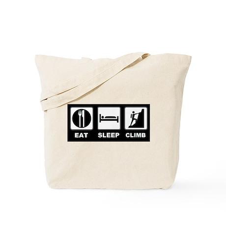 eat seep climb Tote Bag