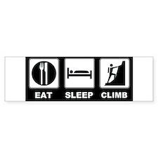 eat seep climb Bumper Bumper Sticker