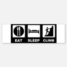 eat seep climb Bumper Bumper Sticker