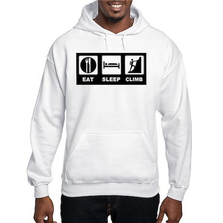 eat seep climb Hooded Sweatshirt