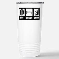 eat seep climb Travel Mug