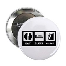 "eat seep climb 2.25"" Button"
