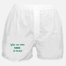 Cute Wishing to be friends is quick work but friendship Boxer Shorts