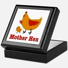 Mother Hen Chicken Keepsake Box