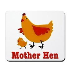 Mother Hen Chicken Mousepad