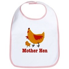 Mother Hen Chicken Bib