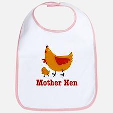 Mother Hen Chicken Bib