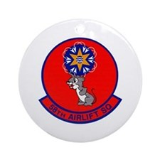 58th Airlift Squadron Ornament (Round)