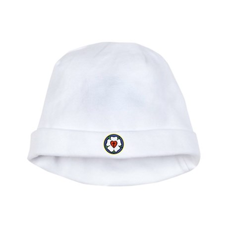 Luther Rose baby hat