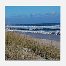 Beachfront Beauty Tile Coaster