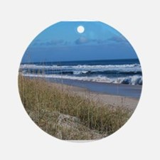 Beachfront Beauty Ornament (Round)