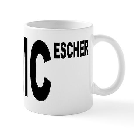 E=MC Escher Mug