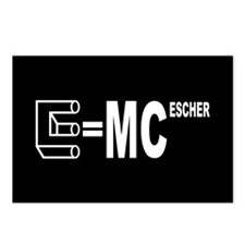 E=MC Escher Postcards (Package of 8)