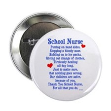 "School Nurse 2.25"" Button"