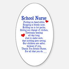 School Nurse Decal