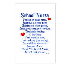 School Nurse Postcards (Package of 8)