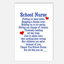 School Nurse Postcards (Package of 8)