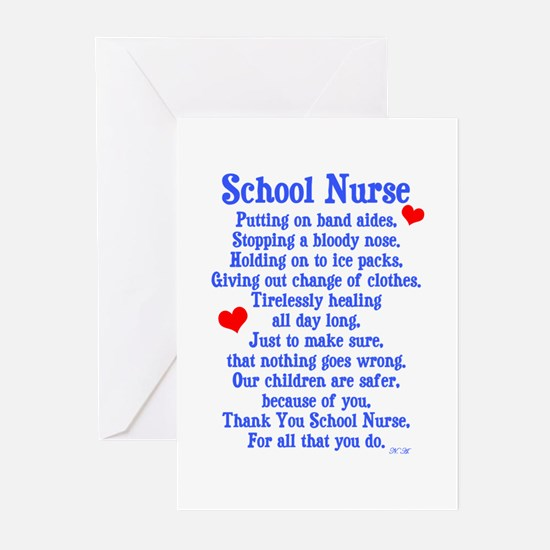 School Nurse Greeting Cards (Pk of 20)