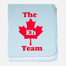The Eh Team baby blanket