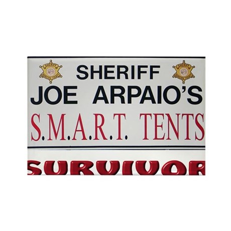 SMART Tents Survivor Rectangle Magnet
