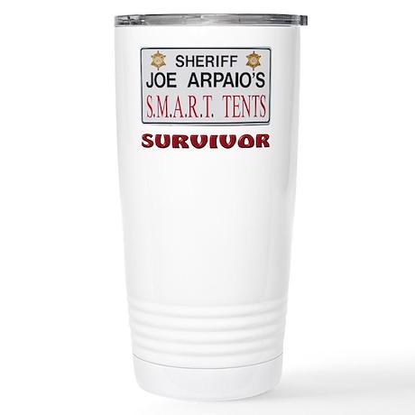 SMART Tents Survivor Stainless Steel Travel Mug