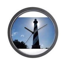 Glow of Hatteras Wall Clock